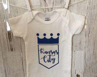 timeless design f0d94 f8e89 Boys kc royals shirt | Etsy