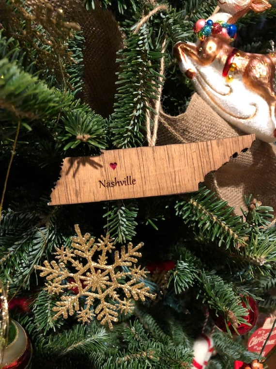 image 0 - Handmade Tennessee State Christmas Ornaments Nashville TN Etsy