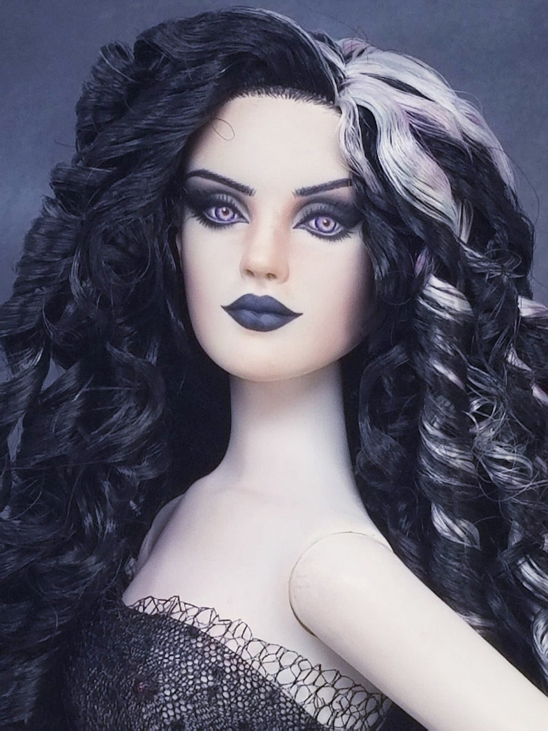 Tonner Antoinette Alabaster Repaint by Laurie Leigh OOAK Goth image 0