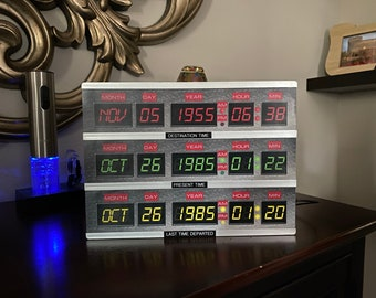 Back to the Future Time Circuits LED Box