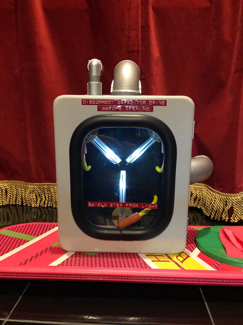 Flux Capacitor Prop with Remote   Back to the Future image 0