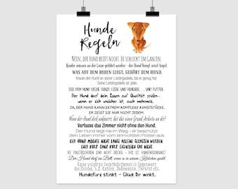 """fine-art print """"Hunderegeln"""""""