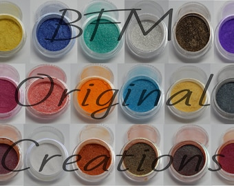 Pigment mystery monthly box ~ pearl pigments, color shifting, 4g, 1.5g ~ paint, resin, epoxy colorant