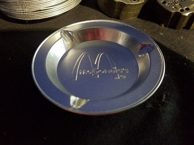 12X New/Old Stock Vintage McDonald's Restaurant Aluminum image 0