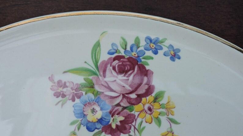 England Beautiful Porcelain Cake Server Barkers Bros