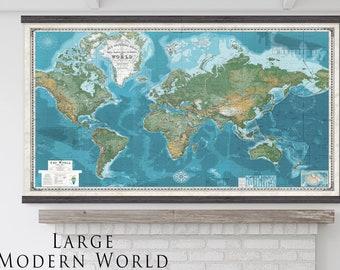 Most Detailed World Map.The Best Damn Push Pin Travel Maps In The By Thetravelmapstore