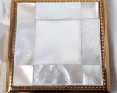 1960 39 s Compact-Melissa Brand-Mother of Pearl-Small Square.