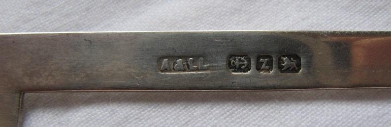 1899 Birmingham Hallmarks Antique Buckle-Victorian English Silver Adie /& Lovekin Ltd REDUCED!