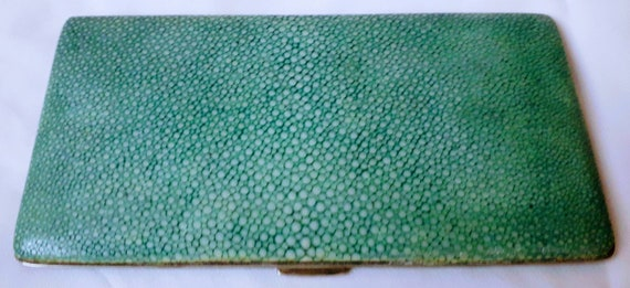 1930's Shagreen Cigarette Case.