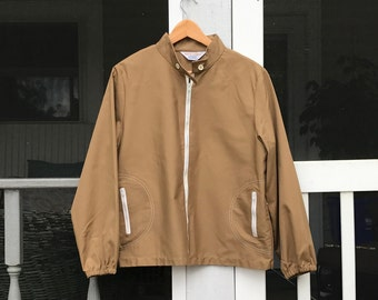 6d4e9c2392 60s Windbreaker Vintage Clothing Jacket Koret of California Canvas Zip Front