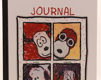 New! Vintage Snoopy Journal by Garborg's. 128 Lined Pages. DS18608