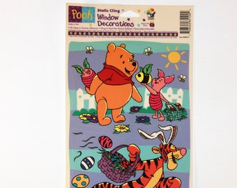 Sheet ~Winnie the Pooh~ Halloween Window Clings. X 17 In 12 In One 1