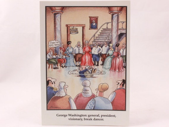 Vintage 1991 Gary Larson Far Side Greeting Card And Envelope Etsy