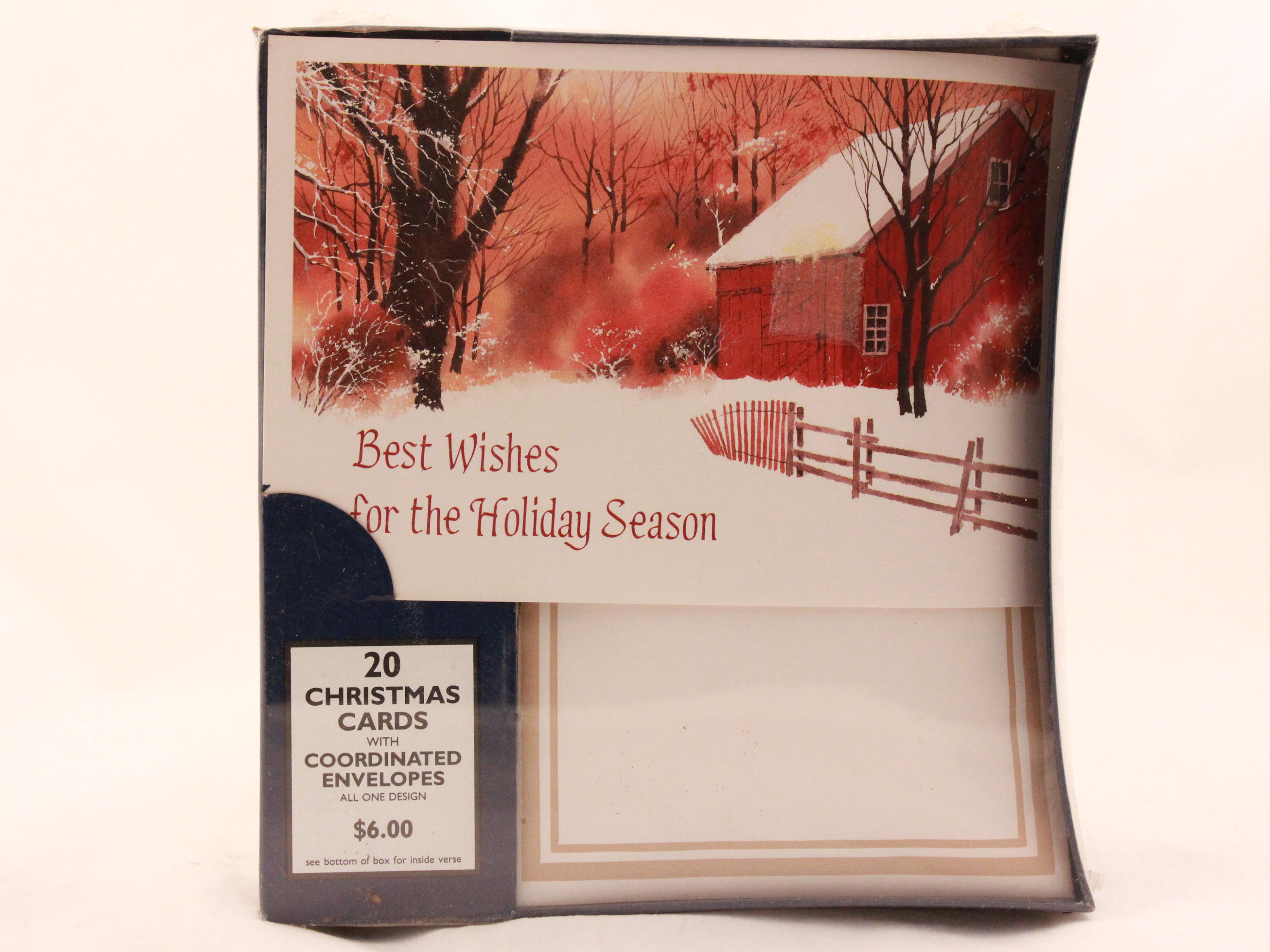 New/Old Stock Paper Magic Group Christmas Cards. 20 Cards with ...