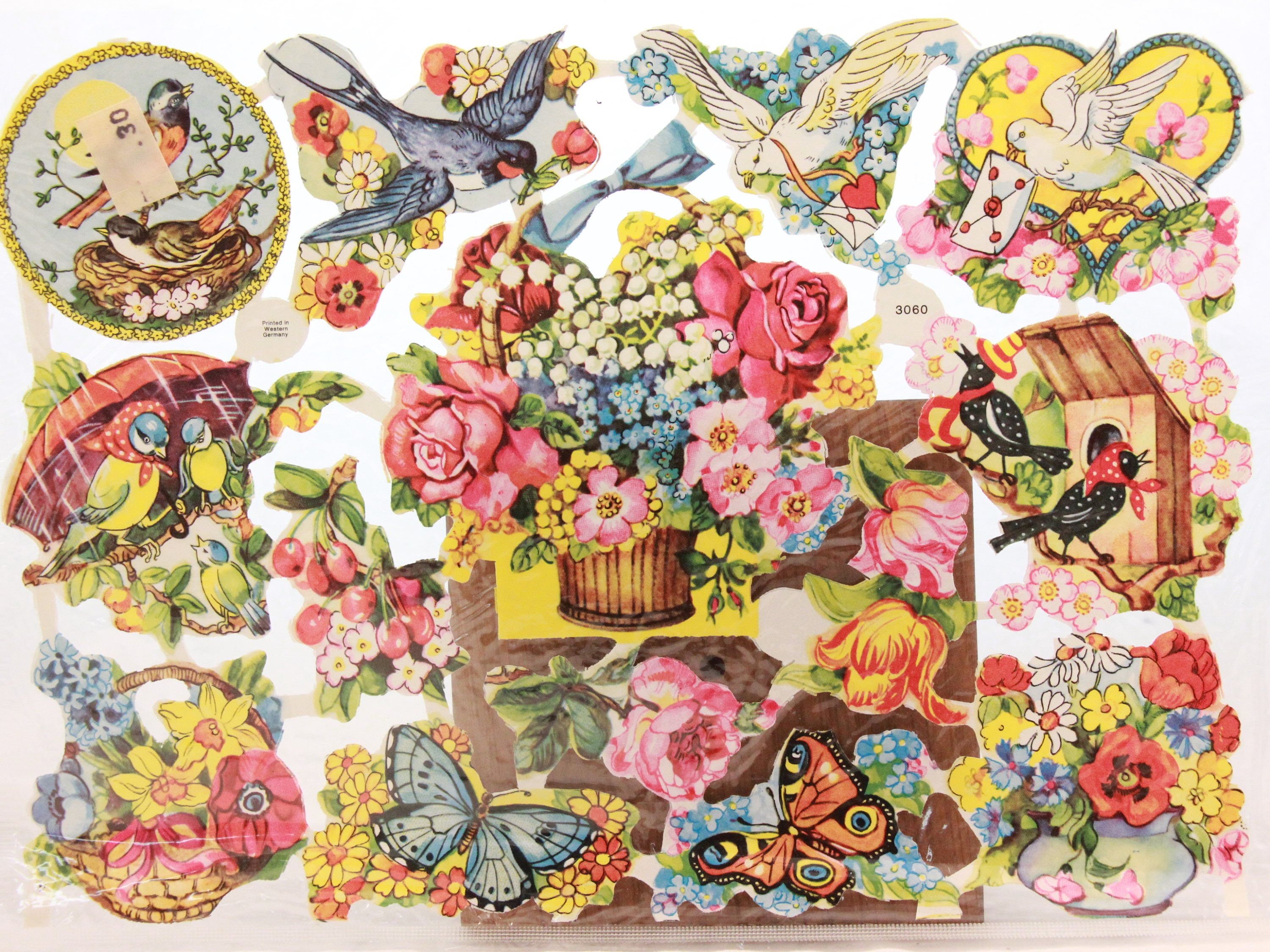 Vintage Quick And Easy Paper Scraps For Decoupage Arts And Crafts