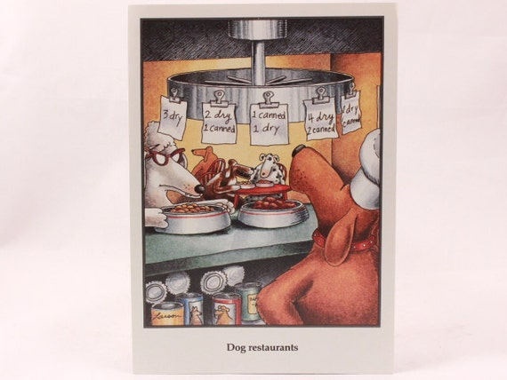 Vintage 1990 Gary Larson Far Side Greeting Card And Envelope Etsy