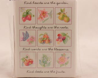 "New/Old Stock Hallmark ""Thank You"" Cards. 8 Notes and Envelopes. Sealed. Garden"