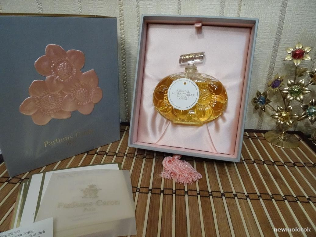 Nocturnes Caron 90ml. Parfum Vintage Baccarat Rare
