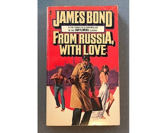James Bond - From Russia, With Love by Ian Fleming, 1980 Jove Edition
