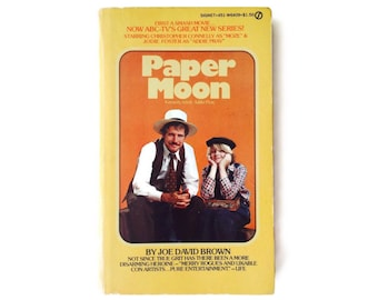 Paper Moon with Jodie Foster, 1970's Joe David Brown Book