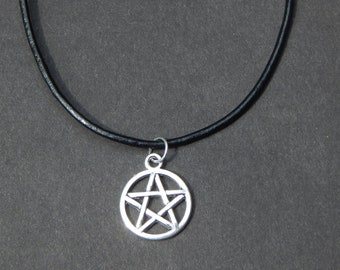 Pentagram Necklace Etsy