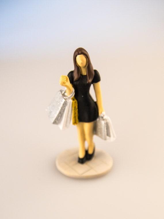 Shopping Queen Figur Zum Basteln Fur Gutscheine Oder Etsy