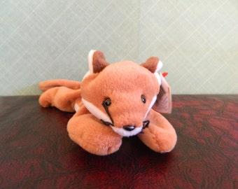 2942fe135cc TY Brown Fox Beanie Baby