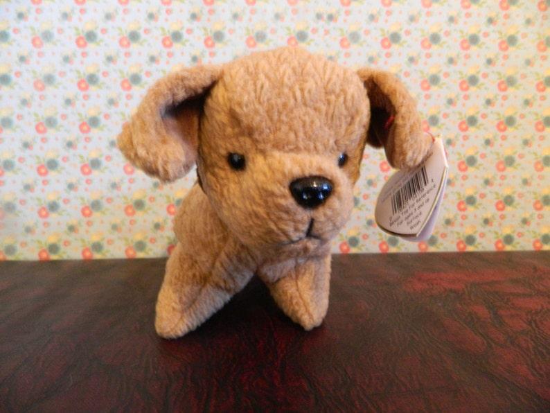 622a47e9a86 TY Brown Terrier Dog Beanie Baby Tuffy B