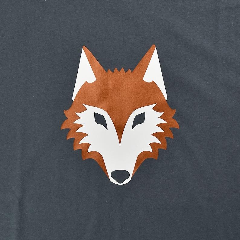animal dog sustainable vegane forest fair ethical Wolf organic husky Men/'s Organic Cotton T-Shirt