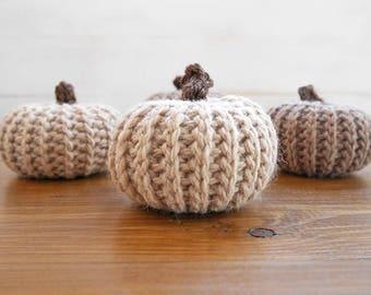 Crochet pattern pumpkin, crochet pumpkins, fall decor, table decor, crochet pumpkin pattern