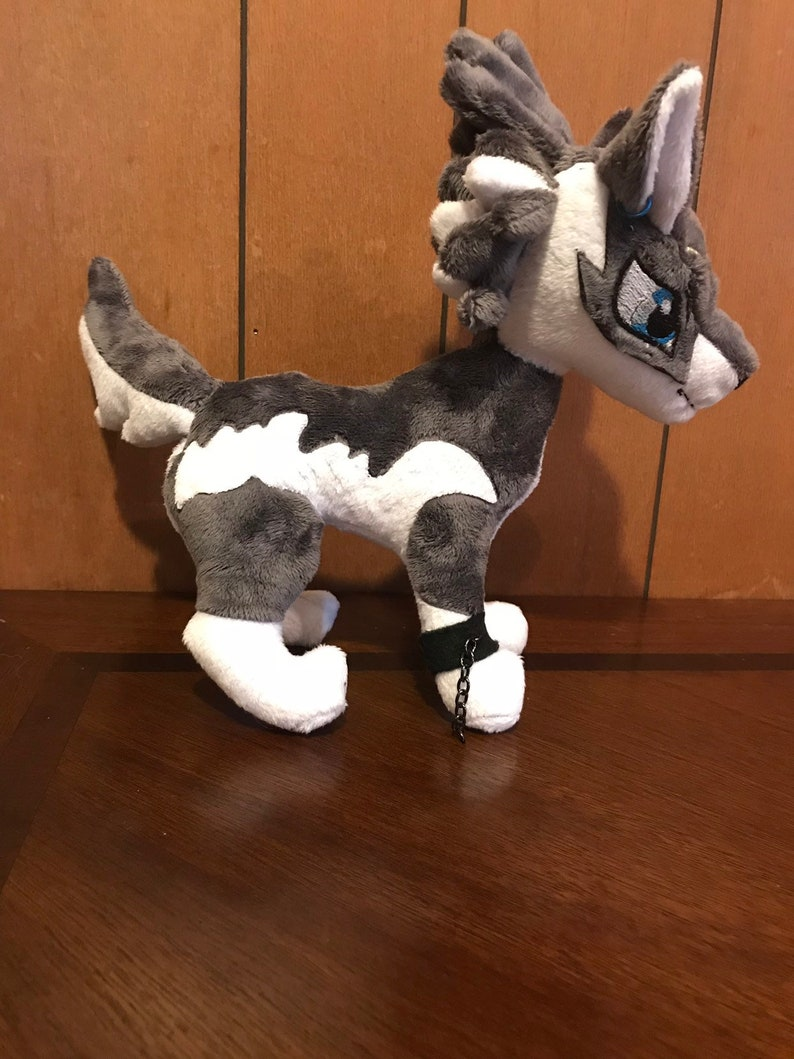 Legend of Zelda Wolf Link Plushie-Video Game FanArt  3ca7b409b