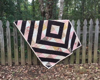 Cottage Chic Quilt, shabby home decor, cottage style quilt, cottage chic decor blanket, shabby cottage chic decor,housewarming gift