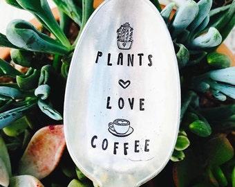 Ladies Girl Power Stamped Coffee Spoon Female Stamped Silver Spoon  Hard To Handle Cactus Best Friend Gift Coffee Spoon