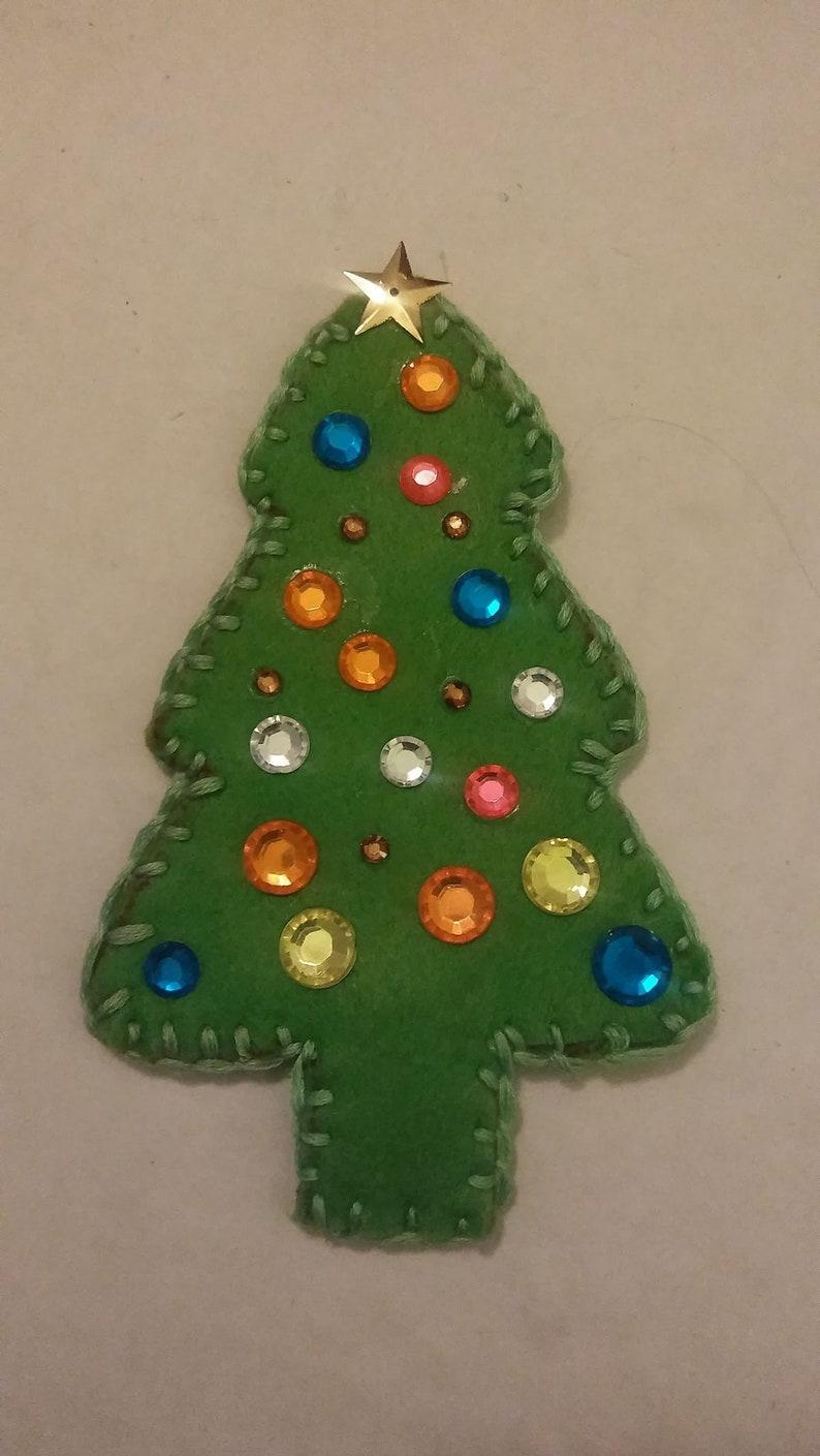 Ugly Christmas Tree.Ugly Christmas Tree Ornament Christmas Ornament Felt Ornament Christmas Tree Ugly Ornament