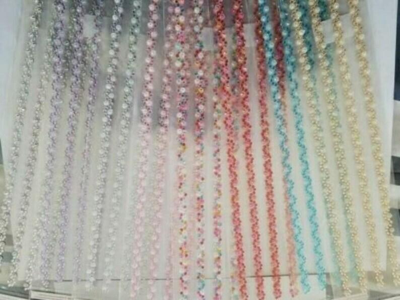 DIY Craft CraftbuddyUS CB117CL-4 Self Adhesive Rhinestone Strips Color-Clear