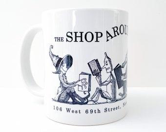 You've Got Mail Mug - The Shop Around the Corner - Meg Ryan Tom Hanks Movie Inspired Art - Fox Books Mug - You've Got Mail Gift and Print