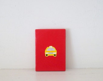 New York Subway Map Leather Taxi Wallet.New York Taxi Etsy