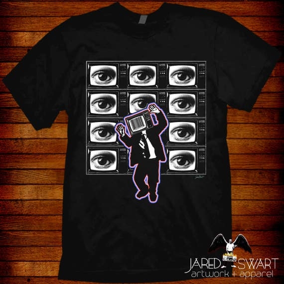 George Carlin T-Shirt fine art styled design by Jared Swart