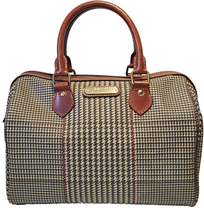 b5e877c5dd6d Polo Ralph Lauren Vintage Handbag Authentic Brand Purse
