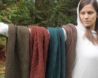 100% Merino Wool Hand Dyed Loop Scarf