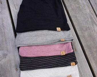 Twist Toque 'Shades' Bamboo Jersey