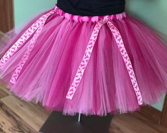 Valentine/'s Day Skirt Breast Cancer Tutu Pink Birthday Party Party Tutu Love Tutu Adult Valentines Day Light Pink Tutu Hot Pink Tutu