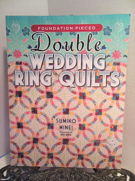 Ln Foundation Pieced Double Wedding Ring Quilts By Minei Etsy