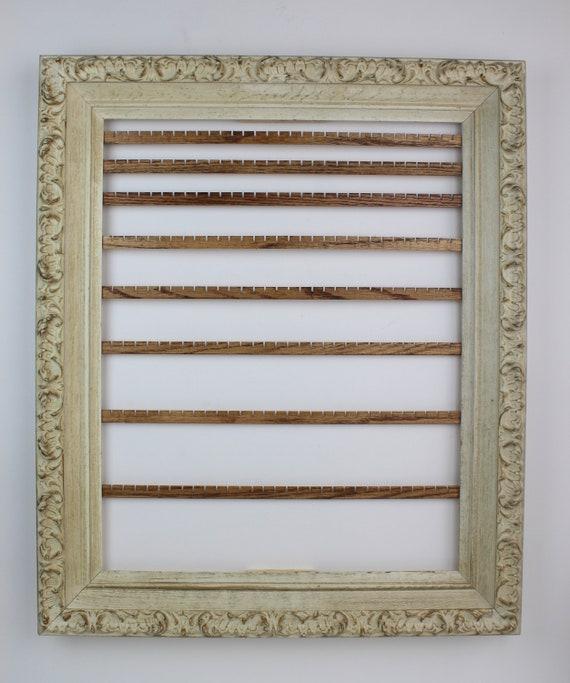 Large Jewelry Organizer Frame Wall Mount Earring Organizer | Etsy