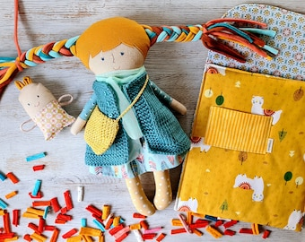 Rag doll babies toys . Toys for toddlers Rag doll . Soft rag doll toddler toys . Toddler toys rag textile doll