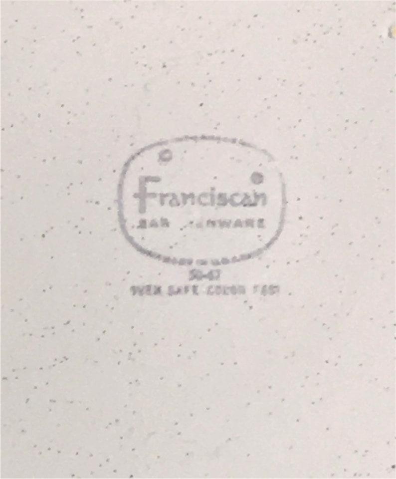 1965-1983 Vintage Franciscan Earthenware Hacienda Gold Creamer Pitcher