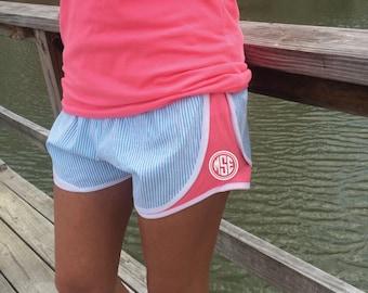 Custom Seersucker Shorts