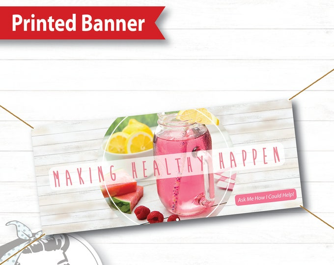 Event Banner, FREE SHIPPING