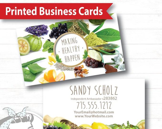 Business Card - Nature's Grace, Plexus Business Card, Marketing Material