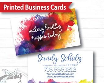 Business Card - Splash of Color, plexus Business Card, New slim, Pink Drink, Pink Drink Update, plexus Swag